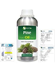 Pine (Pinus Sylvestris) 100% Natural Pure Essential Oil 2000ml/67 fl.oz.