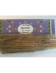 Lavender ラベンダー Agarbatti Incense Sticks 線香 100 grams Flora Incense Agarbatti フローラ