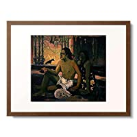 ポール・ゴーギャン Eugène Henri Paul Gauguin 「EIAHA OHIPA (Not working). 1896.」 額装アート作品