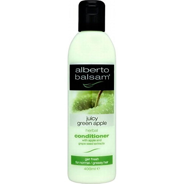 アボート提供軍隊Alberto Balsam Herbal Conditioner - Juicy Green Apple (400ml) アルベルトバルサムハーブコンディショナー - ジューシーな青リンゴ( 400ミリリットル) [並行輸入品]