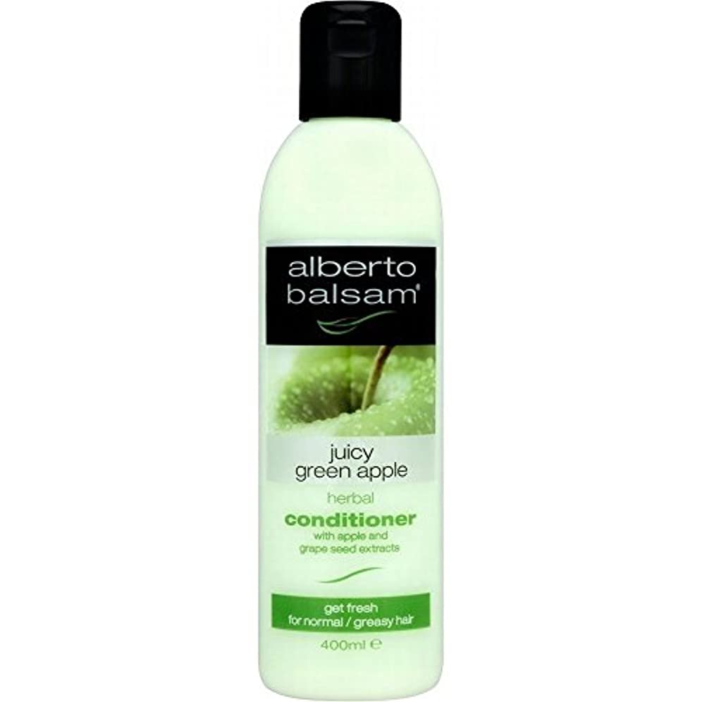 Alberto Balsam Herbal Conditioner - Juicy Green Apple (400ml) アルベルトバルサムハーブコンディショナー - ジューシーな青リンゴ( 400ミリリットル) [並行輸入品]