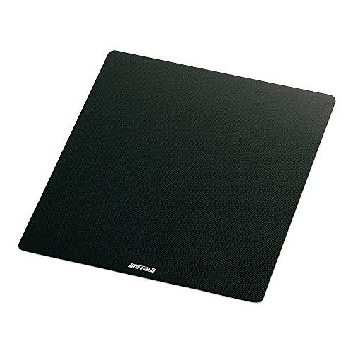 バッファロー マウスパッド メタル調 ブラック BSPD10BK 1個
