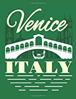 Venice Italy: Travel Notebook, Blank Lined Paperback Travel Planner, 150 pages, college ruled