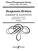 Christ's Nativity (Faber Edition: Choral Programme Series)
