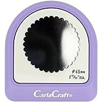 カール事務器 クラフトパンチ メガジャンボ スカロップ45mm CN45010