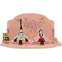 人形工房天祥 雛人形 2018年 新作 一秀 木目込み人形 親王飾り 平飾り 桃山雛20号