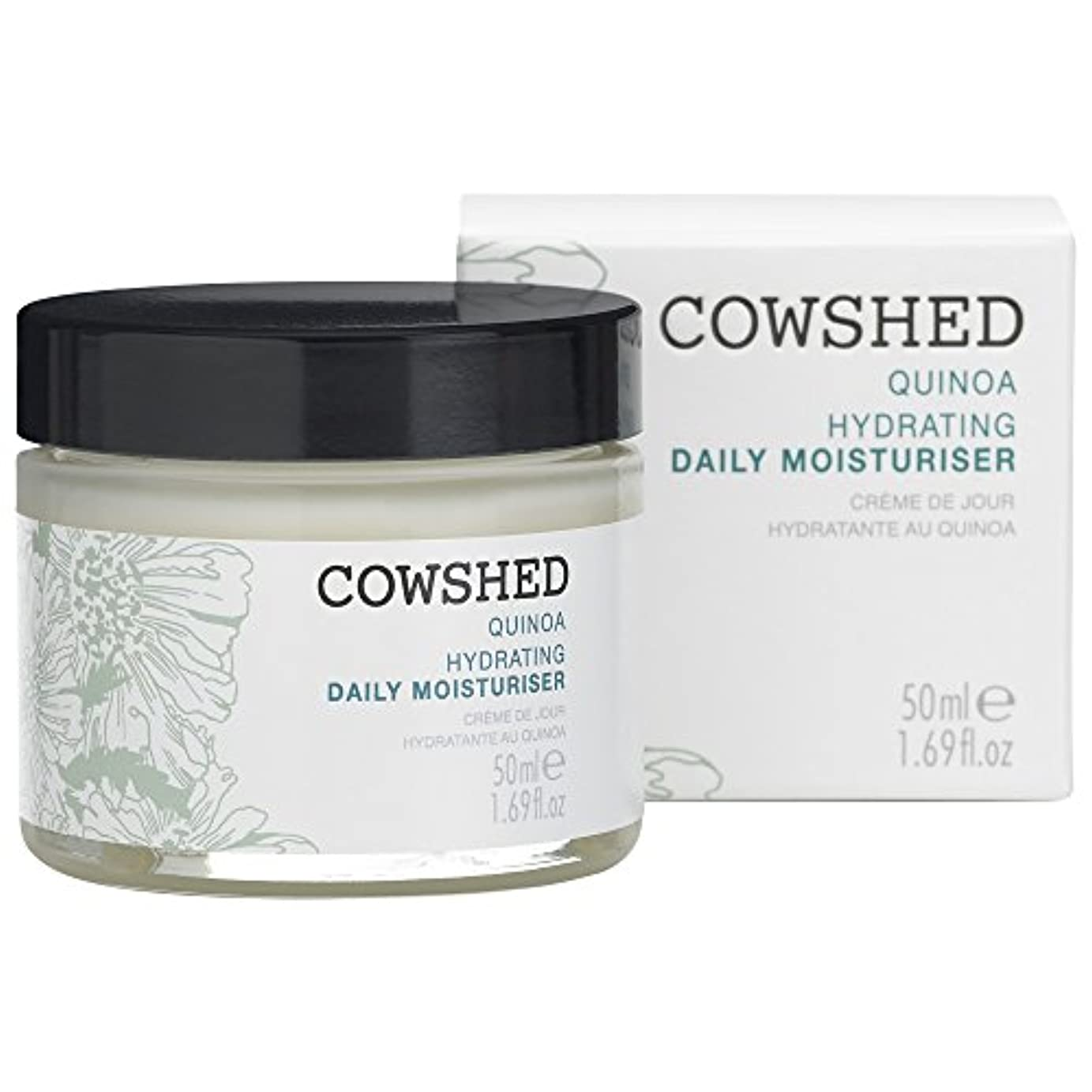 会議剥離年金牛舎キノア水和毎日の保湿クリーム50Ml (Cowshed) - Cowshed Quinoa Hydrating Daily Moisturiser 50ml [並行輸入品]