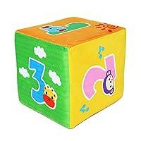 Hellery ダイスおもちゃ 6面サイコロ スポンジ製 さいころ ゲーム道具 全5タイプ - 動物の数