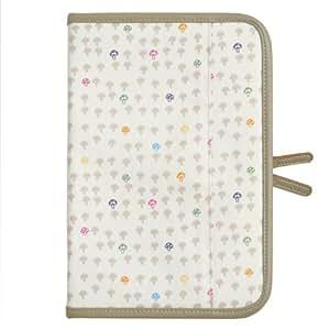 ホッペッタ Hoppetta champignon 母子手帳ケース バニラアイス 7214