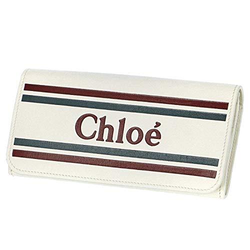 Chloe(クロエ) 財布 ロゴ カーフレザー 二つ折り 長財布 二つ折り長財布 9SP065 A88 119 [並行輸入品]