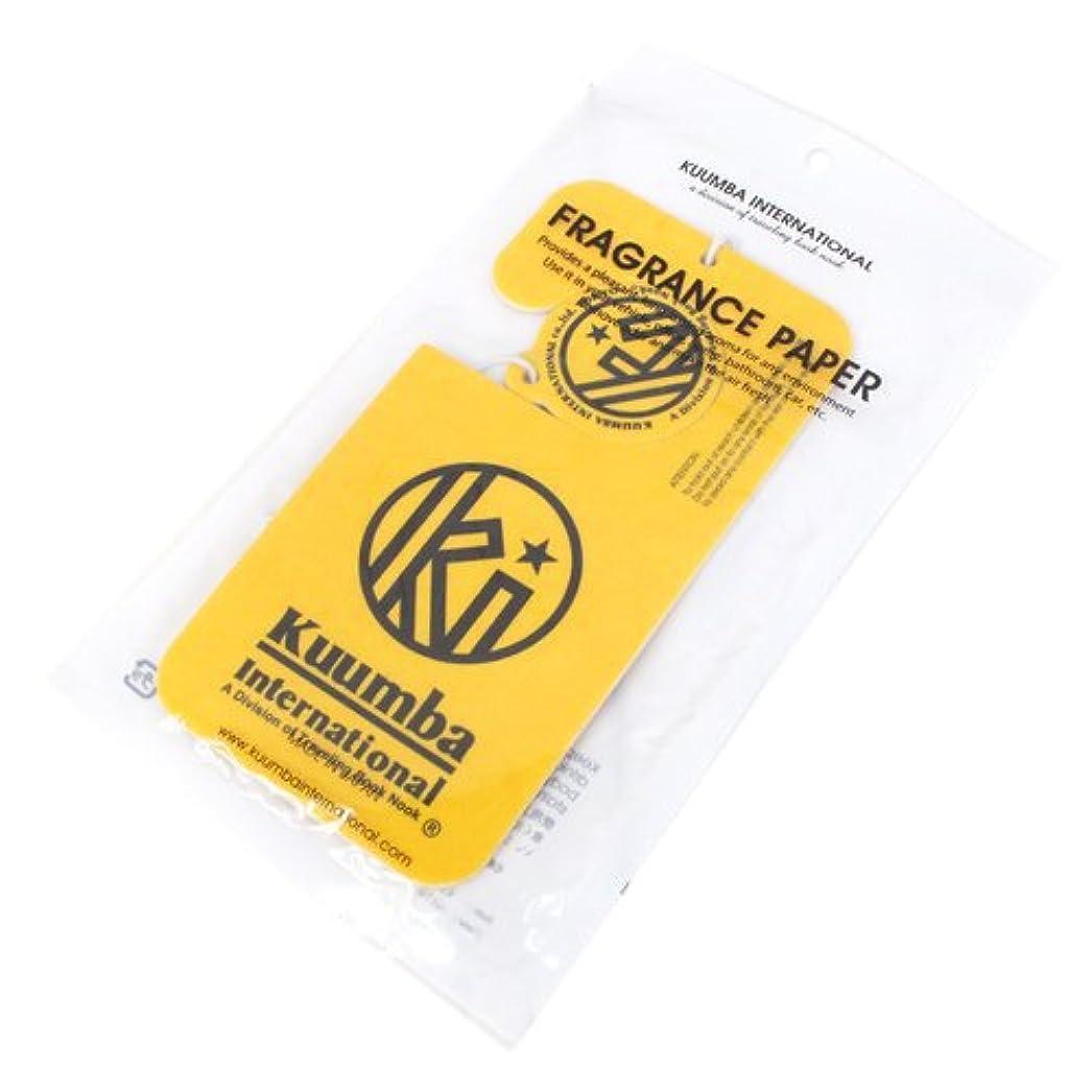 万歳モニター前進KUUMBA (クンバ)『Paper Freshener』(HAPPY) (ONE SIZE)