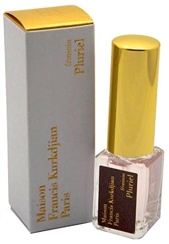 サーカスライセンス治すメゾン フランシス クルジャン フェミニン プルリエル オードパルファン トラベルサイズ 5ml(Maison Francis Kurkdjian Feminin Pluriel EDP Spray Mini 5ml) [並行輸入品]