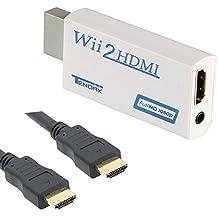 HDMIコンバータWiiとHDMIアダプタを変換WiiとHDMI接続を変換HDMIケーブルを付属 WiitoHDMI変換アダプタ