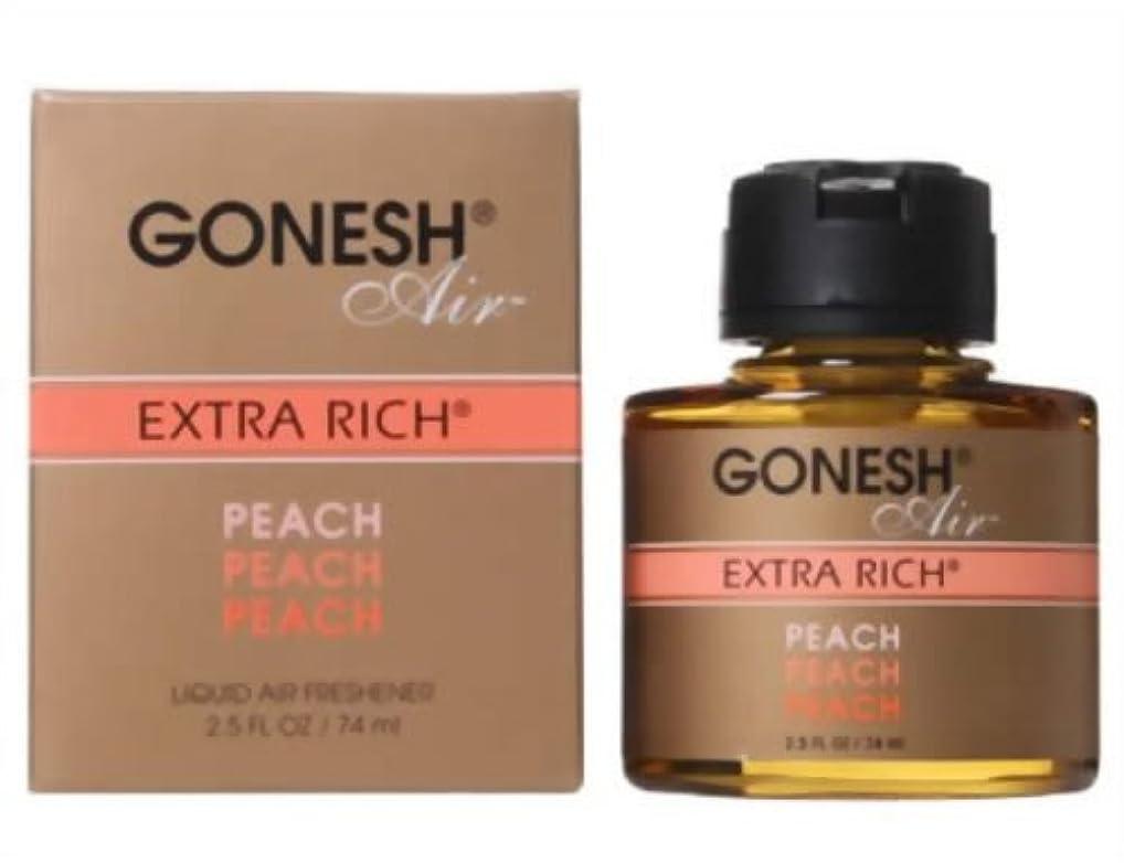 熟読する宿る分類GONESH リキッドエアフレッシュナー ピーチ 74ml