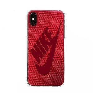 NIKE(ナイキ) グラフィック スウッシュ iPhoneX ケース DG0027-922 ラッシュピンク/レッドクラッシュ