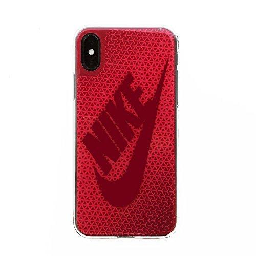 NIKEナイキ グラフィック スウッシュ iPhoneX ケース DG0027-922 ラッシュピンク/レッドクラッシュ