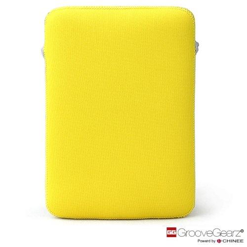 【3色 選べる】Groove Gearz 超軽量 6インチ 電子書籍リーダー スマートフォン 用 ネオプレーン スリーブケース ブライト イエロー ( iPhone6 PLUS / Galaxy S6 edge /kobo Touch/PRS-G1 / PRS-T1 / PRS-T2 その他の電子書籍リーダースマートフォン対応)