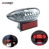GUAIMI テールランプ バイク LED ブレーキランプ 12V スズキ GSX1300R はやぶさ 隼99-07 Katana GSX600 GSX600F Katana GSX750 GSX750F 03-06に適する