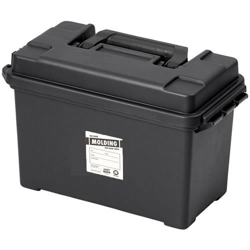 molding AMMO TOOL BOX アーモ(弾薬入れ)ツールボックス Lサイズ (ブラック)