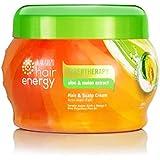 MAKARIZO マカリゾ Hair Energy ヘアエナジー Creambath クリームバス ファイバーセラピー ヘア&スカルプクリーム 500g Aloe&Melon アロエ&メロン [海外直送品]