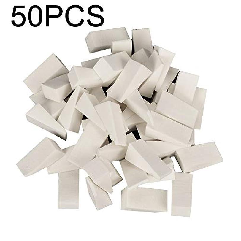 hamulekfae-50個使い捨てソフトスポンジネイルスタンパーグラデーションカラーリングマニキュアツールシール