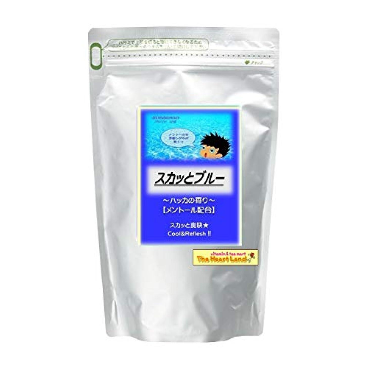 ネスト類推練習したアサヒ入浴剤 浴用入浴化粧品 スカッとブルー 2.5kg