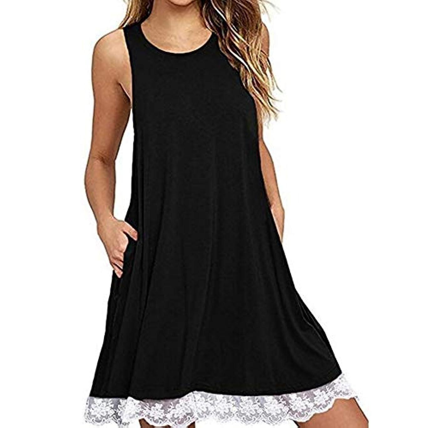 確かな日焼け優先権MIFAN の女性のドレスカジュアルな不規則なドレスルースサマービーチTシャツドレス