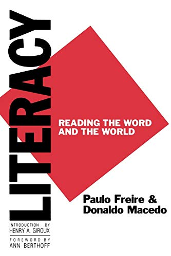 Download Literacy: Reading the Word and the World (Critical Studies in Education Series) 0897891260