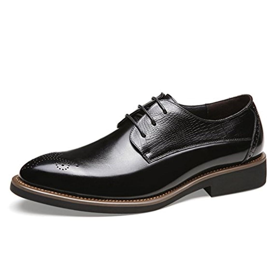 罪悪感超える泥だらけ革靴 メンズ ビジネスシューズ レースアップ 疲れない プレーントゥ コンフォートシューズ 通勤 出張 卒業式 24.0cm 24.5cm 25.0cm 25.5cm 26.0cm 26.5cm 27.0cm 「イノヤ」