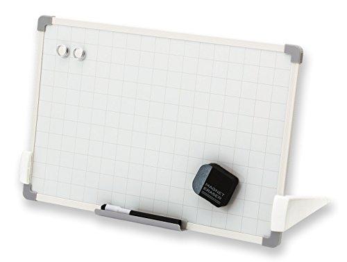 アスカ ホワイトボード セクションボード スタンド付 VWB074  暗線入り Mサイズ