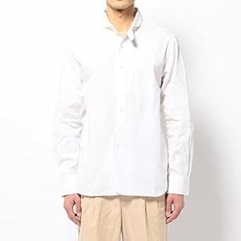 ビショップ メンズ(Bshop) ■【HAVERSACK(ハバーサック)】長袖丸襟シャツ ピンオックス【WHITE/L】