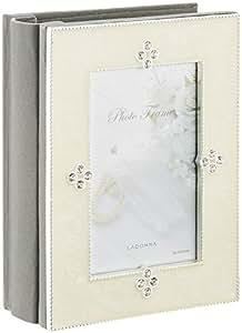 LADONNA フォトフレーム ホワイト ラグジュアリーコレクション AMJN02-P-WH
