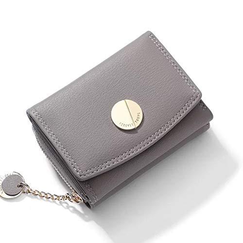 b47fc24b24c7 FuYu 財布 タッセル 多機能 大容量 シンプル レディース 二つ折り ミニ財布 小銭入れ ウォレット