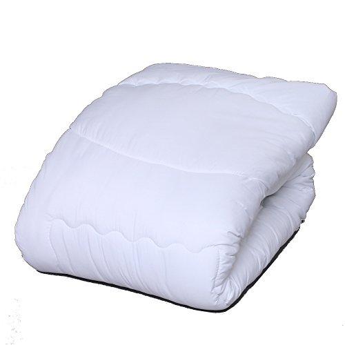 掛け布団 あったか 温度調整掛け布団 洗える 抗菌 防臭 軽量 シングルホワイト 65250115 65250115