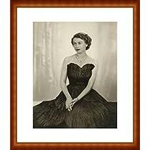 ポスター ドロシー ウィルディング Queen Elizabeth II 額装品 ウッドハイグレードフレーム(ナチュラル)