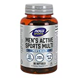 NOW Sports Nutrition, Men's Extreme Sports Multi with Free-Form Amino Acids, ZMA®, Tribulus, MCT Oil, and Herbal Extracts, 90 Softgels