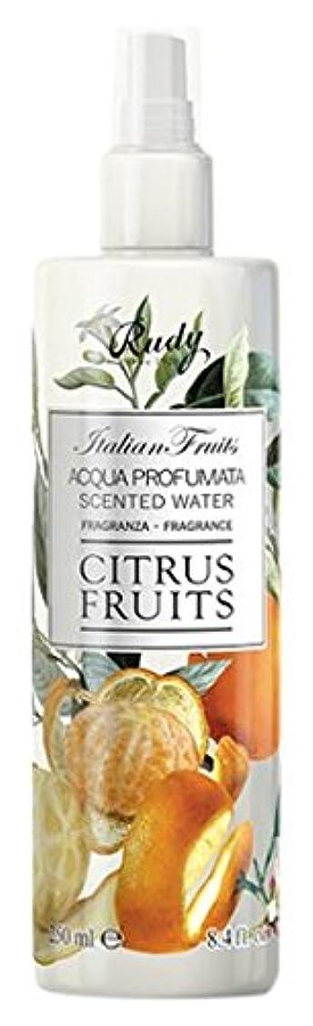 怒るキャンパス小説家RUDY Italian Fruits Series ルディ イタリアンフルーツ Body Mist ボディミスト Citrus Fruits