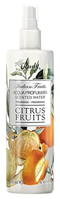 に話す期待写真のRUDY Italian Fruits Series ルディ イタリアンフルーツ Body Mist ボディミスト Citrus Fruits