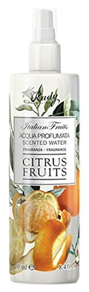 所持リング実行RUDY Italian Fruits Series ルディ イタリアンフルーツ Body Mist ボディミスト Citrus Fruits