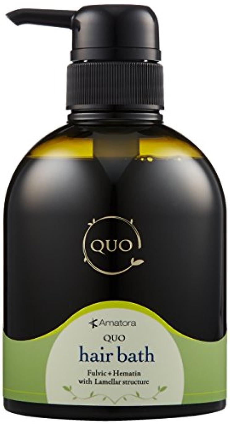 不健康最適エミュレートするアマトラ QUO クゥオ ヘアバス es 400ml