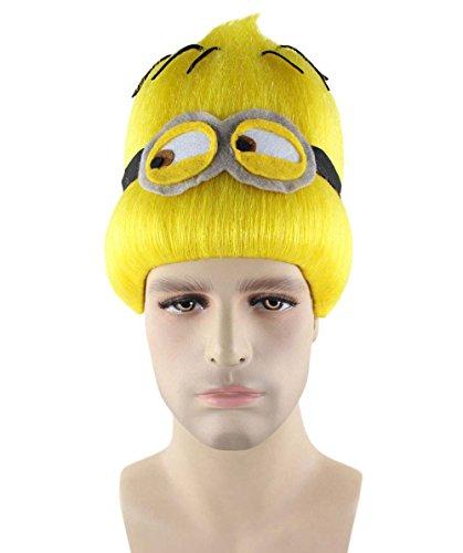 Wigs2you バナナ 妖怪 黄色 ショート ウィッグ H-2354 フルウィッグ コスプレ 遊園地 最高級 ナチュラル かつら 双子コーデ
