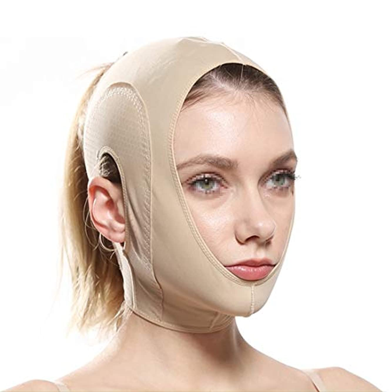 ZWBD フェイスマスク, フェイスリフティング包帯vフェイスフェイスしわvフェイス包帯美容マスクリフトタイトビューティー