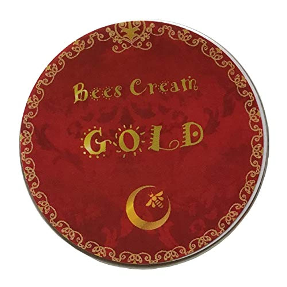 養う錆びオーバーランエムビイエム ビーズクリーム 20g (ゴールド)
