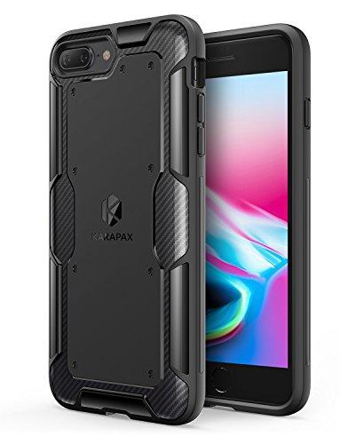 【iPhone 8 Plus / 7 Plus 用】Anker KARAPAX Shield 保護ケース ワイヤレス充電対応 (ブラック)