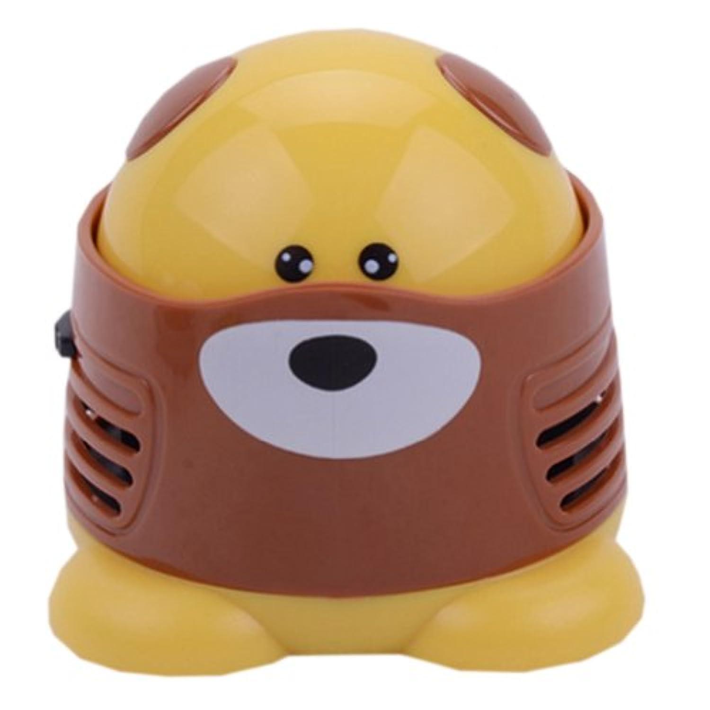 クリエイティブファッションクールミニ犬キーボードデスクトップハンドヘルド掃除機バッテリーなし
