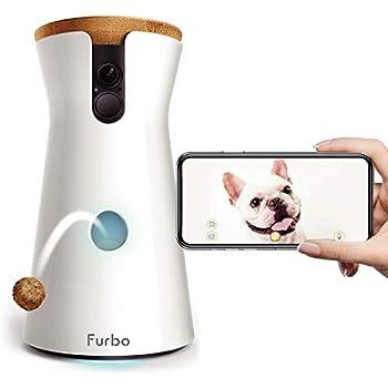 Furbo ドッグカメラ : ペットカメラ 飛び出すおやつ 写真 動画 双方向会話 犬 留守番 iOS Android AI通知