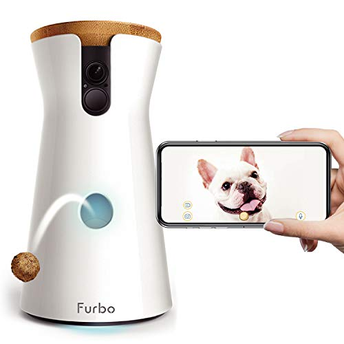 Furbo ドッグカメラ 飛び出すおやつ 双方向会話 フルHDカメラ iOS Android対応 AI搭載
