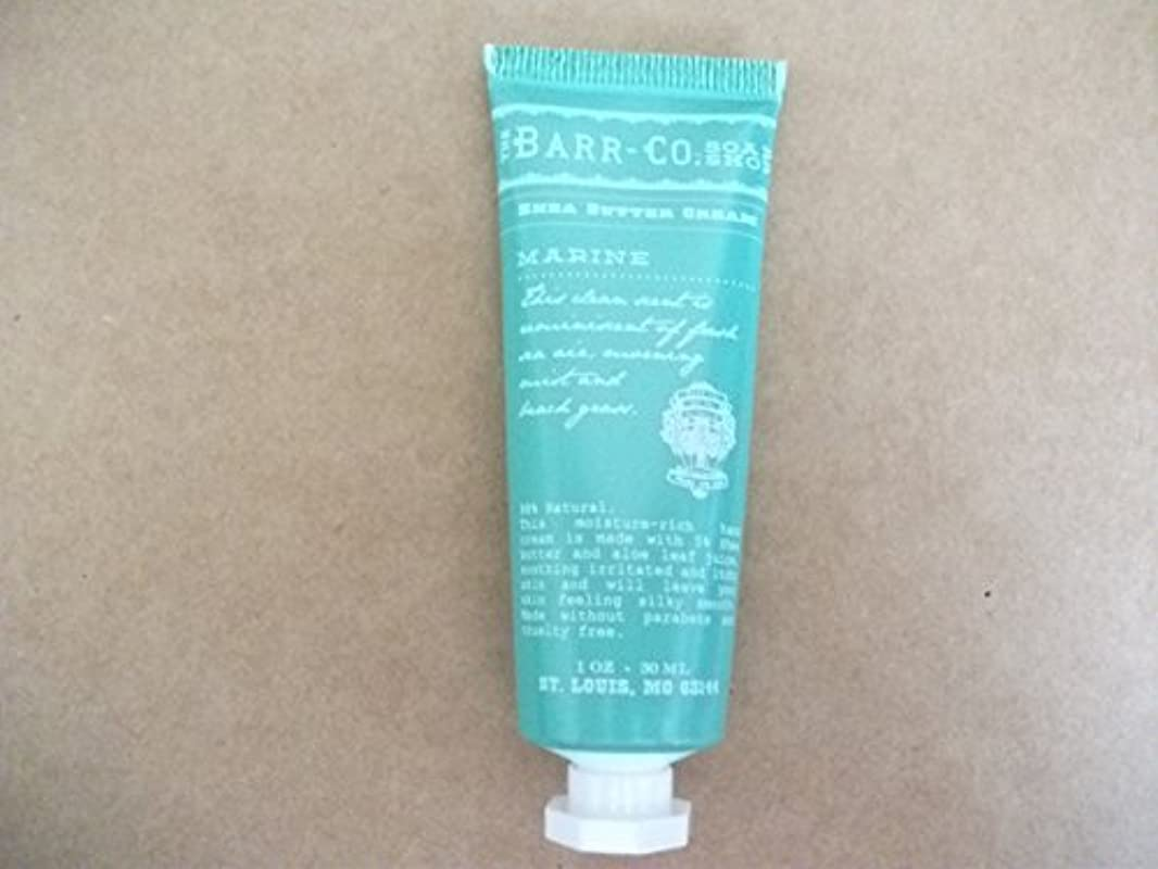 バルセロナ炎上境界BARR-CO.(バーコー) ミニハンドクリーム マリン