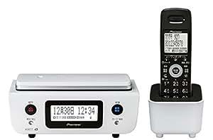 Pioneer デジタルコードレス電話機 子機1台付き 迷惑電話対策・留守番・ナンバーディスプレイ機能搭載 ピュアホワイト TF-FD31W-W
