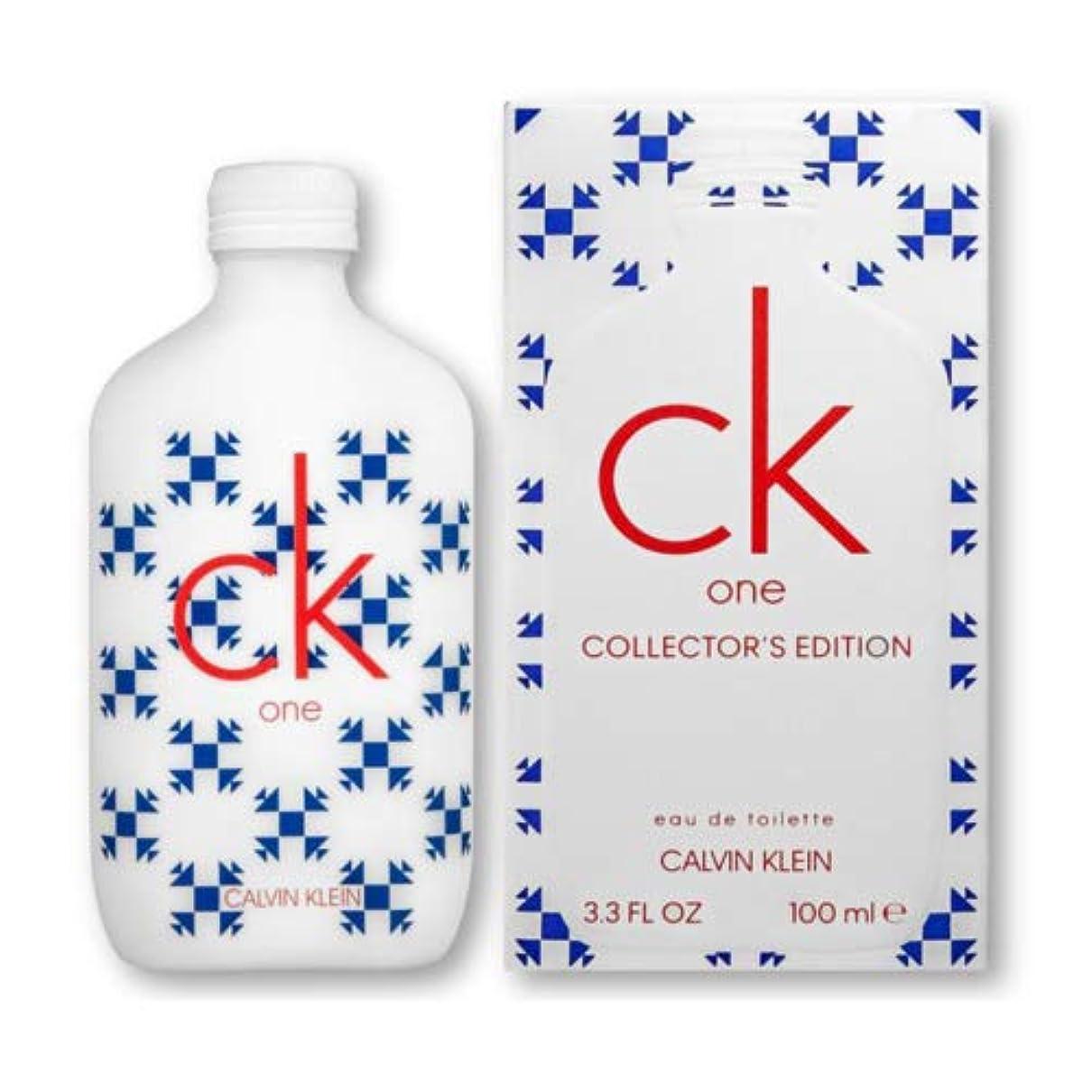 当社突き刺すアイロニーCK カルバンクライン CK ONE シーケーワン コレクターズエディション EDT SP 100ml 香水 CALVIN KLEIN [並行輸入品]